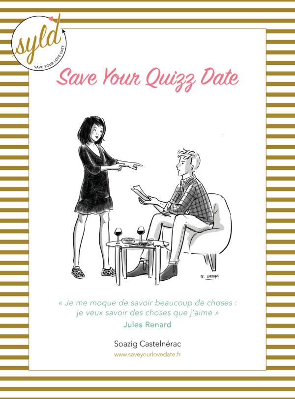 Couverture du rendez-vous Save Your Quizz Date